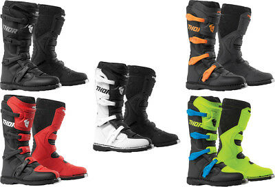 Thor Blitz XP Textile Mexh Offroad Riding Dirt Bike Racing Boots