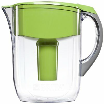 Brita Large 10 Cup Water Filter Pitcher with 1 Standard Filter, BPA Free – Grand