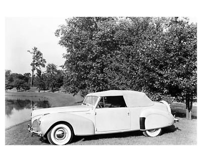 1941 Lincoln Continental Convertible Factory Photo ub5291-A3G9EL