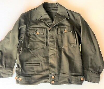 WWII US Army Air Corps F-2 Electrically Heated Outer Wool Flight / Ike Jacket