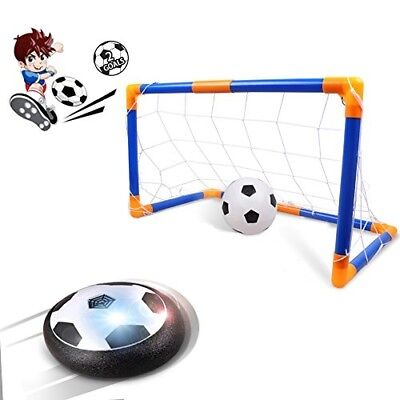 Kids Toys Hover Ball, Rolytoy Air Power Soccer Goal Set for Age of 2-16 Year Old