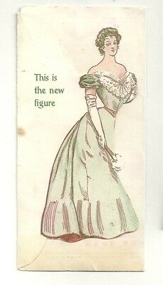 Folded Trade Card WEINGARTEN BROTHERS CORSET FOR ERECT FORM
