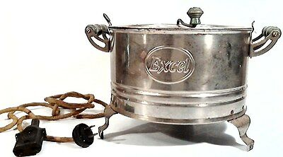 Vintage 1930's-1940's Excel Electric Popcorn Popper. 110 Volts. 660 Watts.