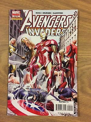 Avengers Invaders (Marvel Dynamite) #2 2008 VF to NM