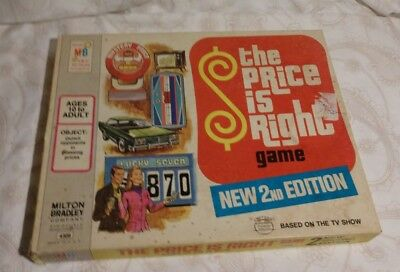 Vintage The Price is Right, New 2nd Edition