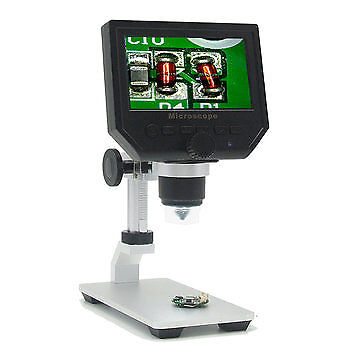 G600 Digital 1-600X 3.6MP 4.3inch HD LCD Display Microscope electronic repair