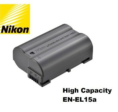 NEW Original Genuine OEM Nikon EN-EL15 EN-EL15a EN-EL15B Lithium-ion Battery