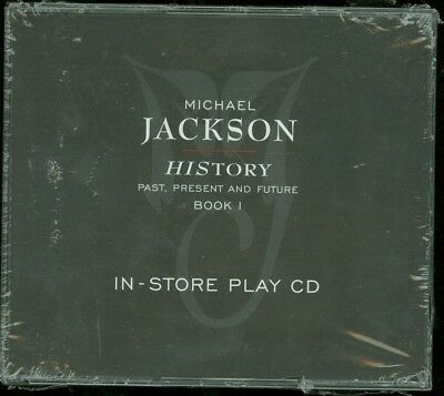 MICHAEL JACKSON Man HIStory 1995 Promo In-Store 2-CD NEW SEALED Jacksons 5 Five