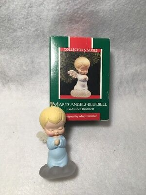 Hallmark Marys Angels Bluebell 2nd In Series 1989