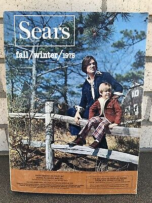 Vintage Sears Catalogue Fall / Winter / 1975
