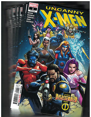 Uncanny X-Men #1 First Print Cover A Wholesale 10 Copies Marvel 2018