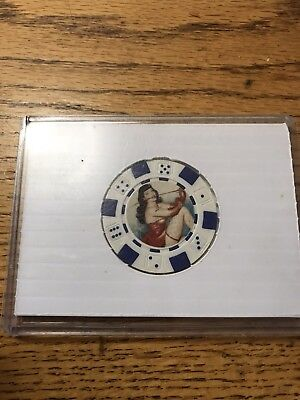 Pinup Girl Poker Chip Collector's