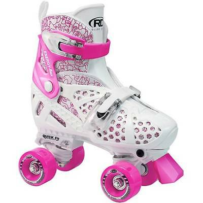 Roller Derby Trac Star Adjustable Quad Roller Skates- Girls