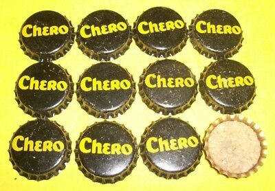(12) Unused NOS 1940/50s Era Chero Cork Lined Soda Bottle Caps   A