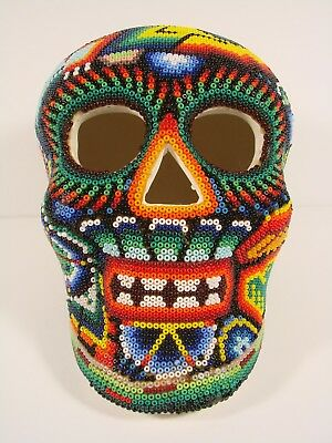 Day Of The Dead Skull Covered With Bead Design, Very Striking