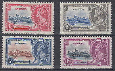 1935 Antigua KGV SIlver Jubilee; MM; SG 91-94; see scans