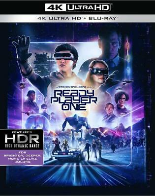 Ready Player One (4K Ultra HD Blu-ray Disc ONLY, 2018)