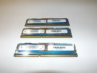 3x 4Gb, (12Gb total) Ventura PC3-10600R server memory D358MJ132SV-999