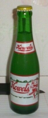 (1) Full (Grapefruit) 1959 Howel's Pittsburgh Pa 7oz ACL Soda Bottle *MINTY* A