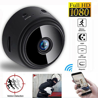 1080P HD Mini IP WIFI Wireless Camera Spy Home Security Hidden DVR Night Vision