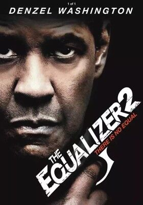 """The Equalizer 2"" (DVD 2018)  NOW SHIPPING"