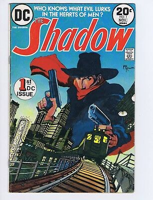 Shadow #1 SOLID DC 1973 SIGNED by KALUTA and WRIGHTSON! Bronze Age (c#21229)