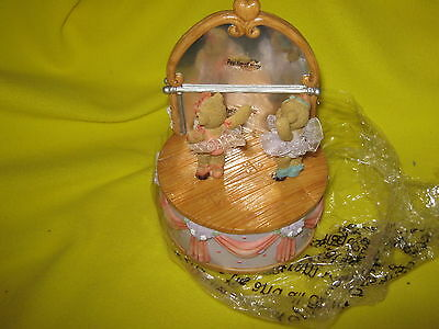 *Friends Keep you on your Toes* Figure 2005 Cherished Teddies/Enesco NEW IN BOX