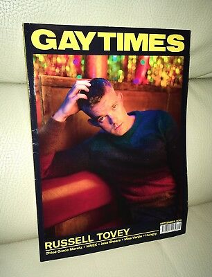 GT Gay Times Magazine September 2018 Issue Russell Tovey Cover LGBT Gay Interest