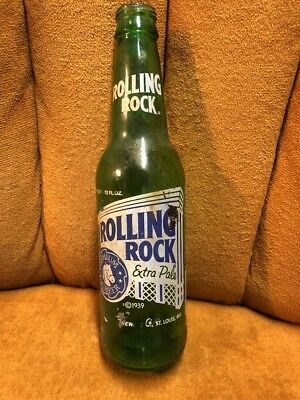Rolling Rock Beer Bottle