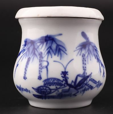 Vintage Chinese Porcelain Teacup Painting Shan Shui Decoration Gift Collection
