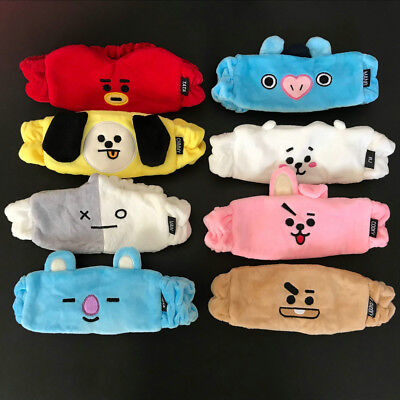 Kpop BTS BT21 Cute Hair Band Tata Chimmy Cooky Wash Cleansing Headband 1PC