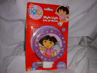 DORA THE EXPLORER BOOTS THE MONKEY Night Light Purple Plug In BRAND NEW Nick Jr