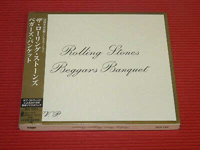 2018 REMASTER JAPAN CD ROLLING STONES BEGGARS BANQUET 50th Anniversary SLIP CASE