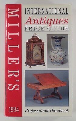 1994 MILLER'S INTERNATIONAL ANTIQUES PRICE GUIDE hc Professional Handbook HC+DJ