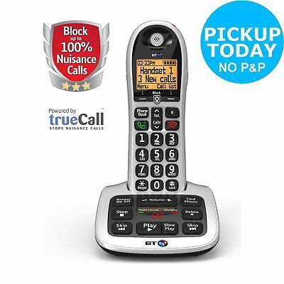 BT Big Button 4600 1.8 Inch Telephone with Answer Machine - Single