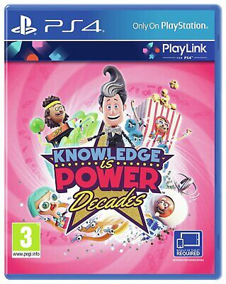 Knowledge is Power: Decades Sony Playstation PS4 Game - 3+ Years