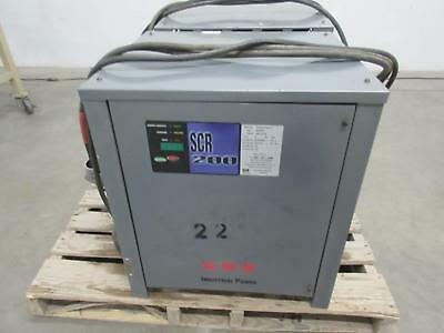 GNB SCR200181050T1H Industrial Battery Charger 18 cell 1050 Ah 36 volt T102488