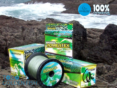 GOLDEN FISH DYNAPOWERTEX 1000 metros 0,70 mm. DYNEEMA 100% braided line OFERTA