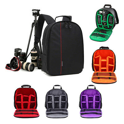 Premium Digital Camera Bag Backpack Photo SLR DSLR Case for Nikon Sony Canon