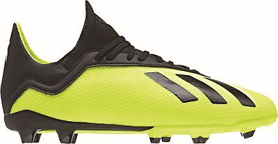 new concept d2148 159ec Adidas Performance Enfants Football Crampons Chaussure X 18.3 Fg J Jaune