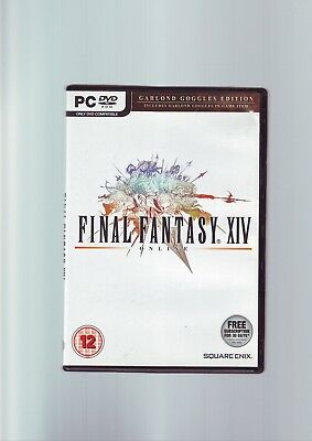 Final Fantasy Xiv 14 Online - Pc Game - Original & Complete With Manual - Vgc