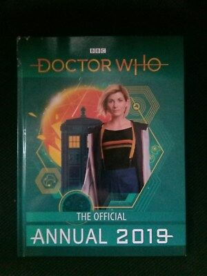 New Bbc Doctor Who The Official 2019 Annual, Hardback.