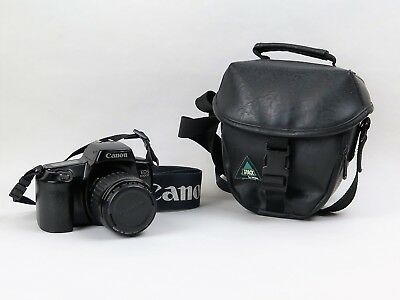 Canon EOS 1000F mit Zoom Lens EF 1:4-5.6 Objektiv in 35-80 mm - incl. Tasche