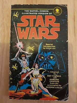 Marvel Comics Illustrated Version Star Wars, 1st Pub.Sphere Books, 1978.Stan Lee