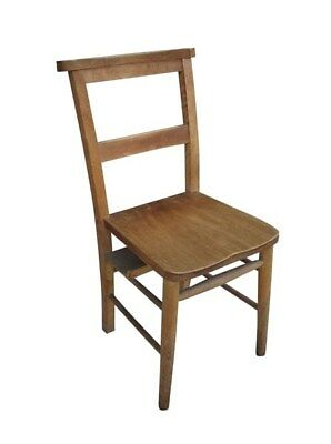 Reclaimed Church Chapel Chairs With Bible Shelves - Reclaimed Solid