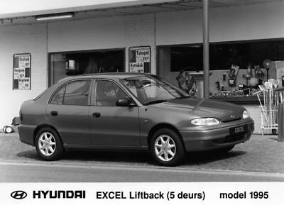 1995 Hyundai Excel Liftback Factory Photo Korea ua3405-H6CGOP