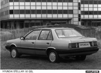 1987 Hyundai Stellar 1.6 GSL Factory Photo Korea ua3416-TOJOT8