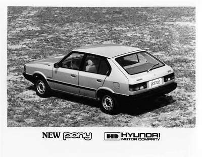 1983 Hyundai Pony Factory Photo Korea ua3425-3TE9PZ