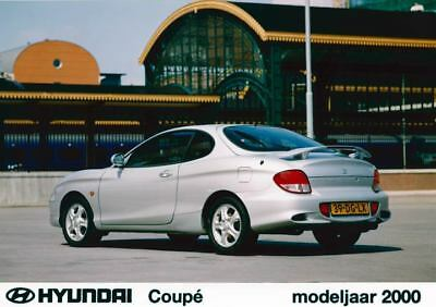 2000 Hyundai Tiburon Coupe Factory Photo Korea ua3428-611SX2