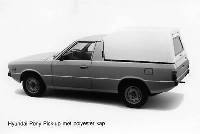 1983 Hyundai Pony Pickup Kap Factory Photo Korea ua3433-REGG4M